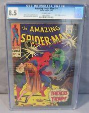 THE AMAZING SPIDER-MAN #54 (Doctor Octopus app) CGC 8.5 VF+ Marvel Comics 1967