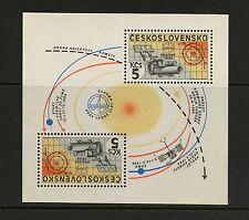 Czechoslovakia 1985 #2554  space Halley's Comet Vega sheet   MNH  J975