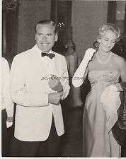 JAMES BOND PRODUCER KEVIN MCCLORY AT VENICE FILM FESTIVAL 1959 RARE PRESS PHOTO