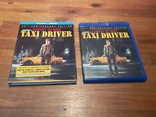 Taxi Driver (Blu-ray Disc, 2016, 2-Disc Set Anniversary Edition) W/Slipcover.