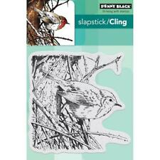 Penny Black Slapstick Cling Stamp - Feathers & Twigs 40-571