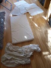 Matratze Kinderbettmatratze (Reißverschluss), 4 Betteinlagen, 3 Spannbettlaken