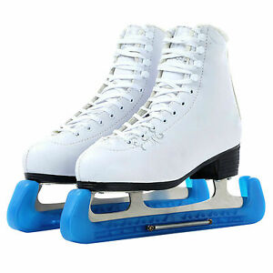Fafeims Ice Skate Blade Covers Guards With Adjustable Spring for Hockey Skates Figure Skates Ice Skates