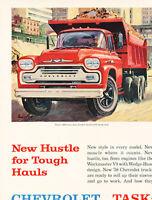 1958 Chevrolet Truck 2-page - Vintage Advertisement Car Print Ad J474