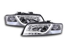 Audi A4 B6 8E 2001-2004 Chrome LED DRL Daylight Running Headlights RHD FREE P&P