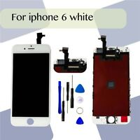 Touch Screen Digitizer Replacement  For  iPhone 6 LCD White Assembly UK