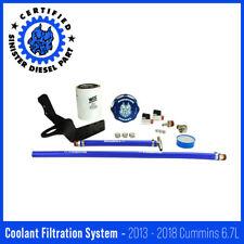 Sinister Diesel Coolant Filtration System for 2013-2018 Dodge Cummins 6.7L