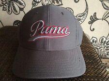 Puma Script fitted Golf cap grey small/medium