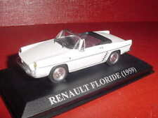RENAULT FLORIDE CABRIOLET 1959 BLANC 1/43 IXO