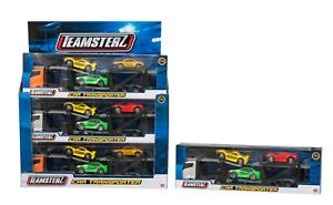 Teamsterz Car Transporter With 3 Cars - One Supplied - Toy Vehicles - New