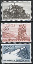 Norway 1968, Cent Mountain Touring Association MNH Sc 510-12
