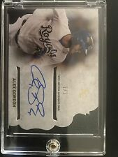 2015 topps supreme baseball alex gordon simply supreme autograph 1/1