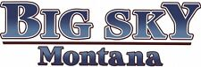 2 RV TRAILER MOTORCOACH MONTANA BIG SKY GRAPHICS DECALS -1477