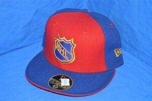 NHL HOCKEY ATLANTA THRASHERS NEW ERA RED BLUE YELLOW FITTED WOOL HAT CAP 7