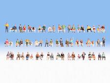 * Noch scala N 37071 Confezione XL di omini seduti  figure, 60 pezzi Nuovi OVP