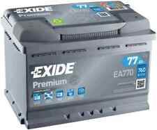 EA770 4 Year Warranty Exide Battery 77AH 760CCA W067TE Type 067