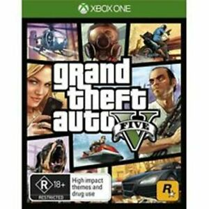 Grand Theft Auto 5 GTA V XBOX ONE FREE POST+ TRACKING VERY GOOD/ INC MAP