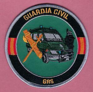 SPAIN GUARDIA CIVIL GRS GRUPO DE RESERVA Y SEGURIDAD RIOT CONTROL POLICE PATCH