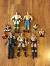 Mattel WWE Figure Lot HHH Orton Undertaker Cena Shemus Rumblers