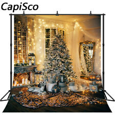 Photography Backdrops luxury living room Christmas Tree Decorations Backgrounds