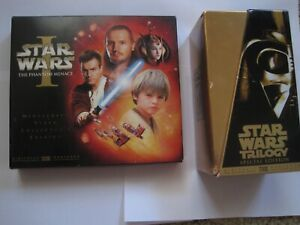 Star Wars-Trilogy Special Edition; Phantom Menace I VHS Tapes