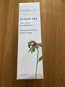 BNIB Farmacy Clean Bee Ultra Gentle Facial Cleanser 150ml Daily Sensitive Skin