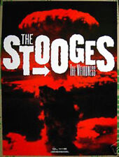 Iggy Pop THE STOOGES Weirdness 2007 promo POSTER -- 18 inches x 24 inches