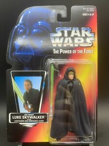 Star Wars: Power of the Force - Jedi Luke Skywalker (Brown Vest) - #9629 NIB