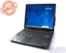 IBM/Lenovo Thinkpad T60 15 pouces Core 2 duo T2300 1,66 GHZ 3GO 160GO 1952-CTO
