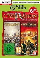 Sid Meier's Civilization IV Add-on Doppelpack [Green Pepper] [video game]