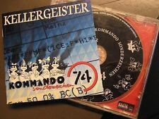 """KELLERGEISTER """"KOMMANDO SONDERZEICHEN 74"""" - CD"""