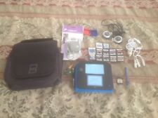 Nintendo DS 2 blue w/ 12 games case lot