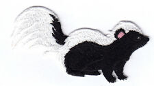 SKUNK, FOREST ANIMAL - WOODS - Iron On Embroidered Patch