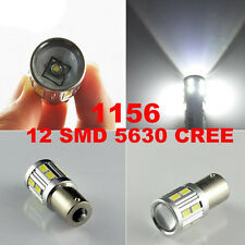 1156 12V BA15S 12SMD 6000K Car Interior LED Light Tail Side Bulb Brake Fog Lamp