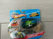 Hot Wheels Stunt Chargers Motorbike Blue & Green Y8346 - New