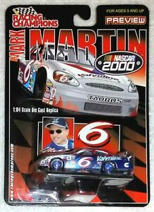 Mark Martin 1/64 2000 Valvoline (Blue Rims)  Racing Champions