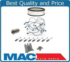 87-93 GM 1500 Pick Up 5.7L Spark Plug Wires Plugs Filters Cap Rotor Tune Up Kit