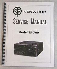 Kenwood TS-700 Service Manual - Premium Card Stock Covers & 28 LB Paper!