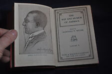 1911 The Wit and Humor of America HCDJ! Volume 2