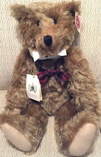 """KARL GIBBONS Collection 1999 """"WILLIAM I"""" Mohair Teddy Bear #16/200 w/Tag England"""