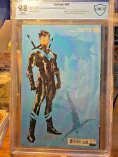 BATMAN 99 JIMENEZ DESIGN VARIANT 1 Per Store CBCS 9.8 = CGC 9.8 POP 9 DC Comics