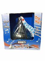 NEW Hershey's Singing Hershey Kiss Candy Sings 3 Songs 2004 Super Rare NIB
