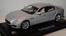 Whitebox 205619 Maserati Quattroporte Silver 1/43rd Scale Model In Case T48 Post