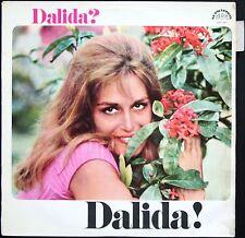 DALIDA 33T LP Rare PRESSAGE TCHEQUE Biem 1967 / SUPRAPHON SUA 13837