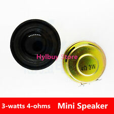 Round speaker 3W 4R (3 watts 4 ohms) mini Speaker Small Audio Amplifier