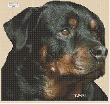 Cross Stitch Chart - Rottweiler - No. 285. free uk p&p