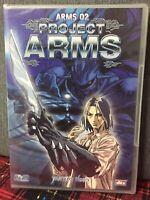 Project Arms Vol. 2 Eps. 5/8 DVD Nuovo Sigillato Yamato Video Come Da Foto N