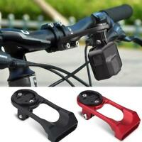 Bike Stem Extension Computer Out Front Mount Holder For Garmin Bryton Cateye