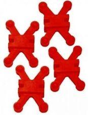 """BowJax Revelation Split Limb Dampener fits Hoyt 11/16"""" Red 4 Pack"""
