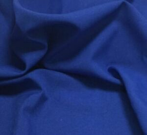 """ROYAL BLUE BI STRETCH 60"""" WIDE  X 5 METERS END ROLL CLEARANCE 0184"""